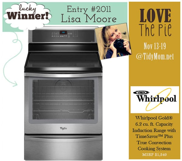 Whirlpool Range winner
