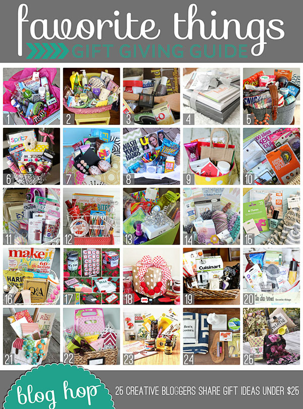 favorite things under $25 gift guide at TidyMom.net