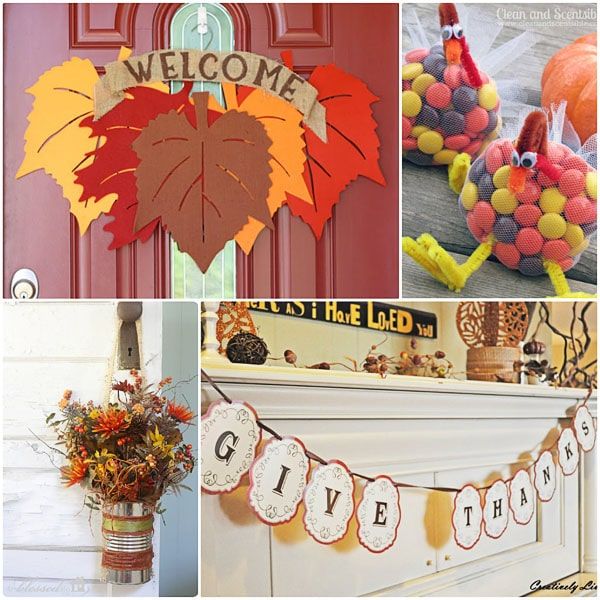 creative thanksgiving ideas at TidyMom.net