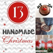 13 Handmade Christmas Ideas at TidyMom.net