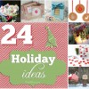24 Holiday Project Ideas at TidyMom.net