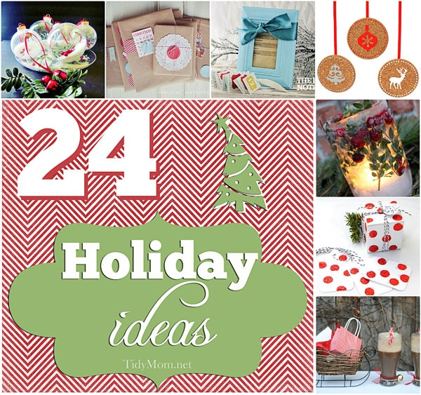 24 christmas holiday ideas for Holiday project