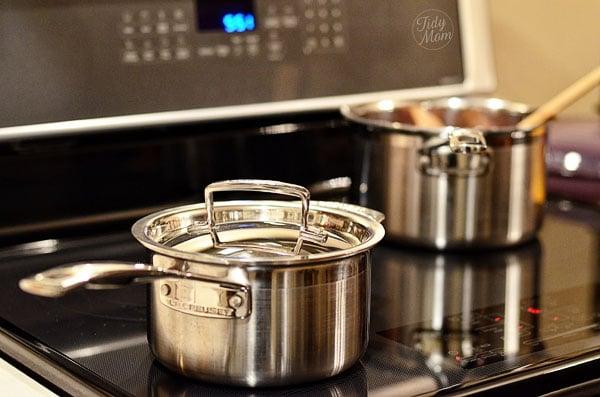 LeCreuset Cookware at TidyMom.net