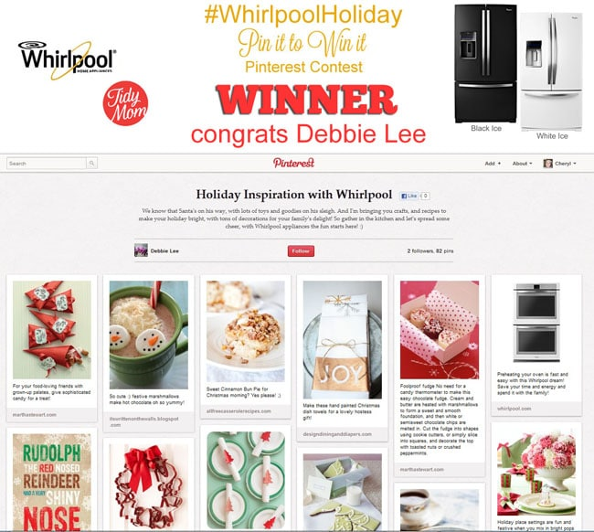 Whirlpool Holiday Winner