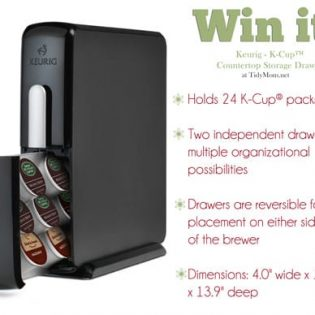 Win Keurig K-Cup Storage Drawer at TidyMom.net