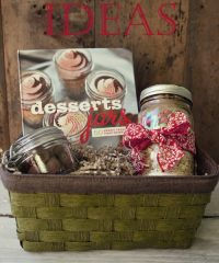Monster Cookie Mix in a Jar Gift Basket