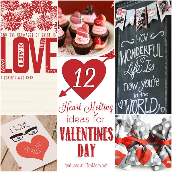 12 Heart Melting Valentines at TidyMom.net