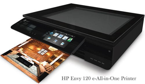 HP Envy 120 all in one printer at TidyMom.net