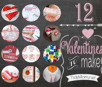 12 Valentines to Make at TidyMom