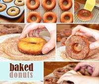 Homemade Baked Donuts at TidyMom.net