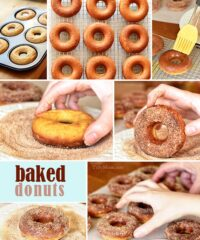 Homemade Baked Donuts at TidyMom.net