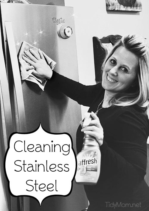 How to Clean Stainless Steel Appliances at TidyMom.net