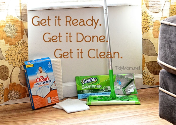 Ready Done Clean at TidyMom