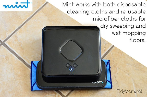 The Mint Floor Cleaner at TidyMom