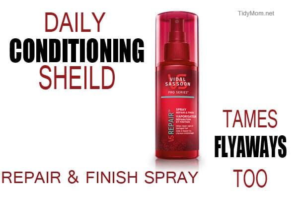 Vidal Sassoon Repair and Finish Spray