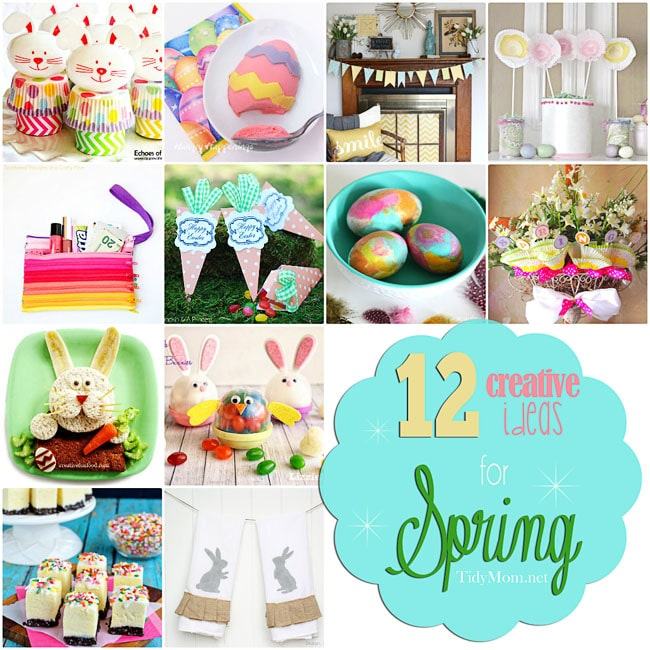 12 Creative Ideas For Easter and Spring at TidyMom.net
