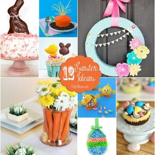 12 Easter inspired crafts, treats and decor anybunny will love at TidyMom.net