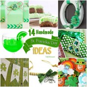 14 Handmade St. Patrick&#039;s Day Ideas at TidyMom.net