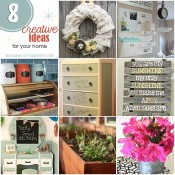 8 Creative Ideas for Home at TidyMom