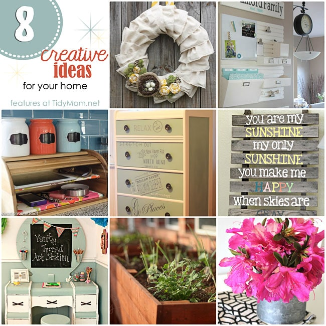 Creative Ideas For Home 8 Creative Ideas for H...