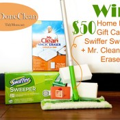 Home Depot P&amp;G Prize Pack at TidyMom.net