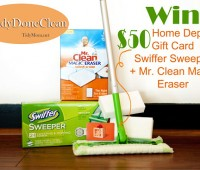 Home Depot P&G Prize Pack at TidyMom.net