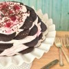 Easy, no-bake Raspberry Icebox Cake at TidyMom.net