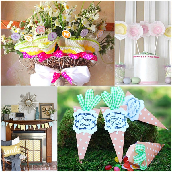 Spring Ideas for Home at TidyMom