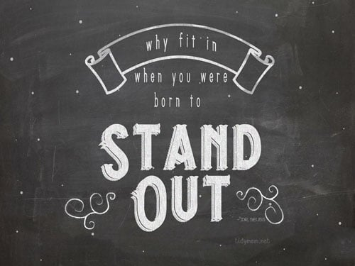 Stand Out March Chalkboard Wallpaper TidyMom