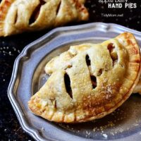 Apple Berry Hand Pies at TidyMom