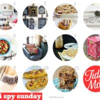 I spy Sunday I'm Lovin' It Features at TidyMom