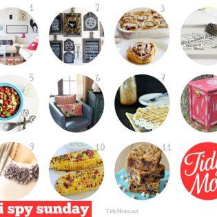 I spy Sunday I'm Lovin' It Features at TidyMom