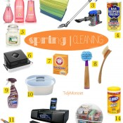 Spring Cleaning at TidyMom.net