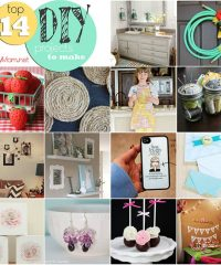 Top 14 DIY Ideas to make at TidyMom.net