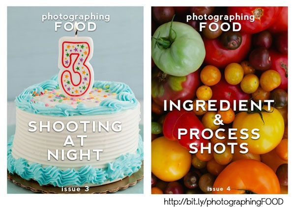 photographingFOOD issue 3 and 4