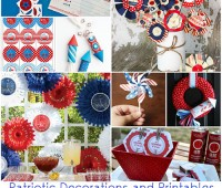 Patriotic Decorations and Printables at TidyMom.net