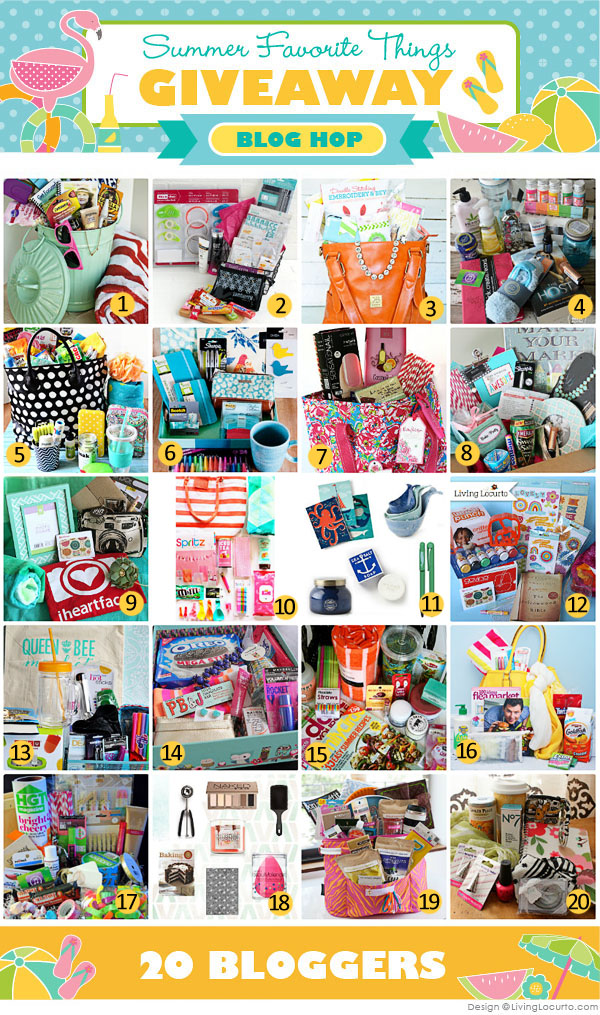 Summer Favorite Things Blog Hop &amp; Giveaway