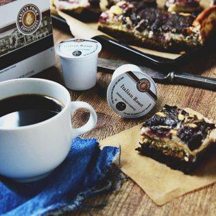 Tiramisu Brownies| recipe at TidyMom.net
