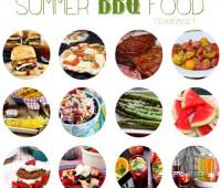 Summer BBQ Food at TidyMom.net