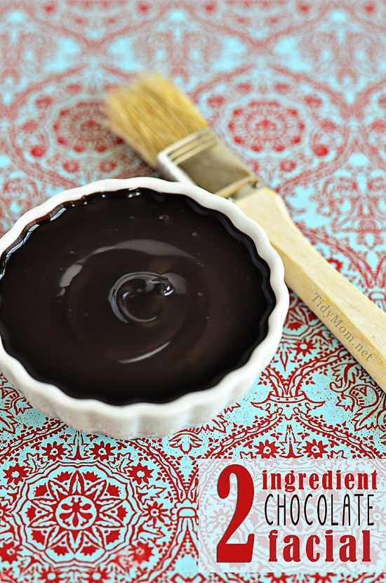 DIY Homemade Chocolate Facial