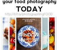 LEARN and IMPROVE your food photography at http://bit.ly/photographingFOOD
