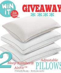 Sleep Number Pillow Giveaway at TidyMom