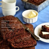 Moist and delicious Chocolate Zucchini Bread recipe at TidyMom.net