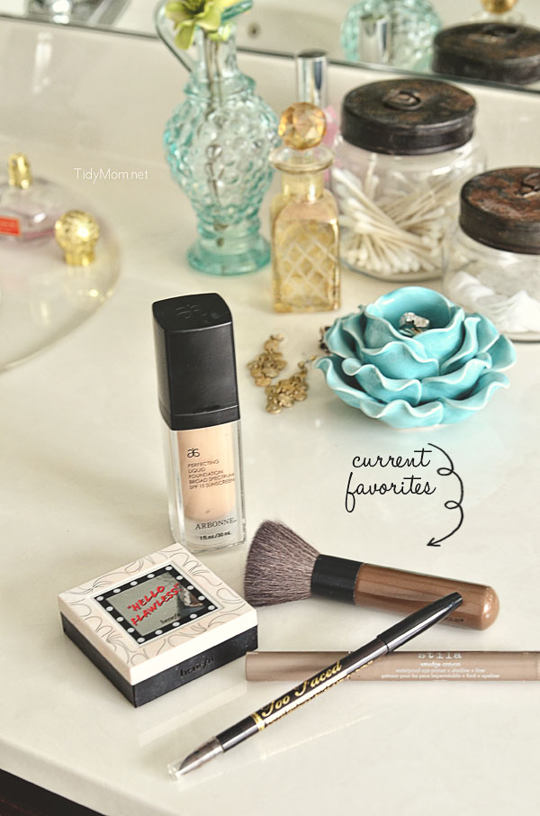 MAKEUP | current favorites at TidyMom.net