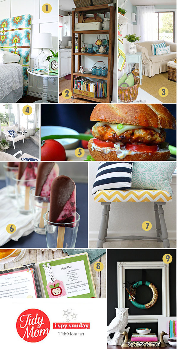 9 Creative Project Ideas | I Spy Sunday at TidyMom.net