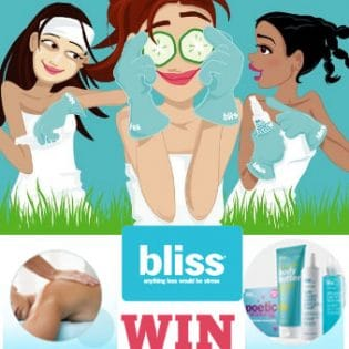 Win a $200 Gift Card to Bliss Spa (services or products) at TidyMom.net