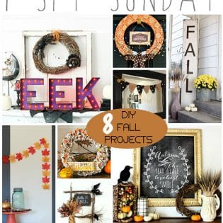 8 DIY Fall Projects at TidyMom