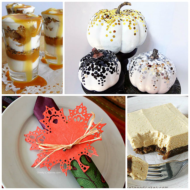 Fall Treats and Crafts at TidyMom.net