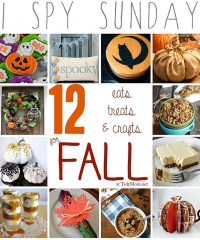 12 Eats, Treats & Crafts for Fall at TidyMom.net