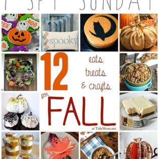 12 Eats, Treats & Crafts for Fall at TidyMom.net